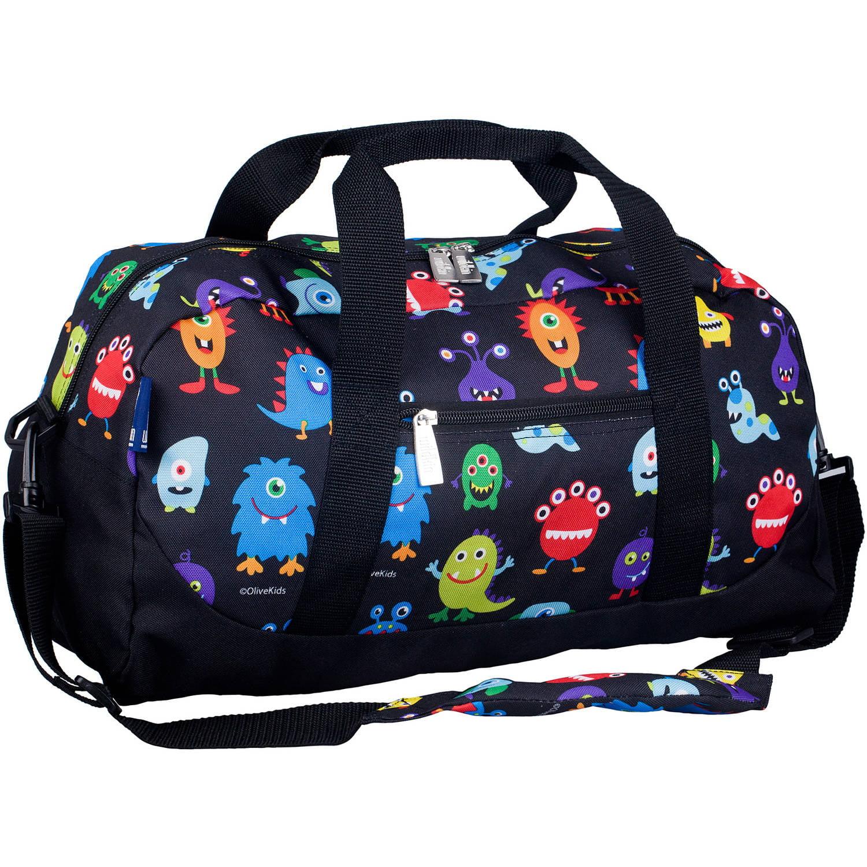Olive Kids Monsters Overnighter Duffel Bag by Wildkin