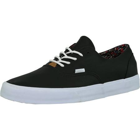 81b47f5979 Vans - Vans Men s Era Decon Ca Nappa Leather Black Ankle-High Fashion  Sneaker - 13M - Walmart.com