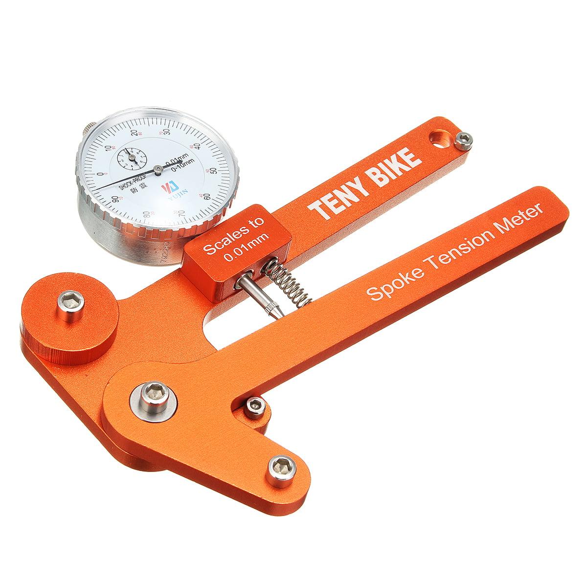 Mechanical//Electronic Bike Spoke Tension Meter Bicycle Wheel Builders Gauge Tool