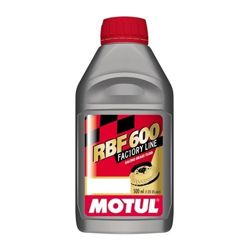 Motul RBF600 Factory Line Brake Fluid 100949; DOT4; 1/2L Bottle (16.9 fl.oz.)