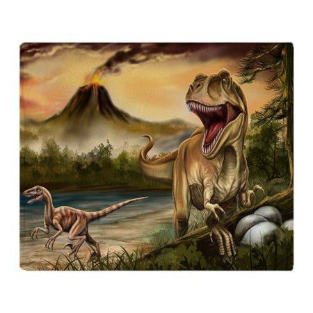 "CafePress - Predator Dinosaurs Blanket - Soft Fleece Throw Blanket, 50""x60"" Stadium Blanket"