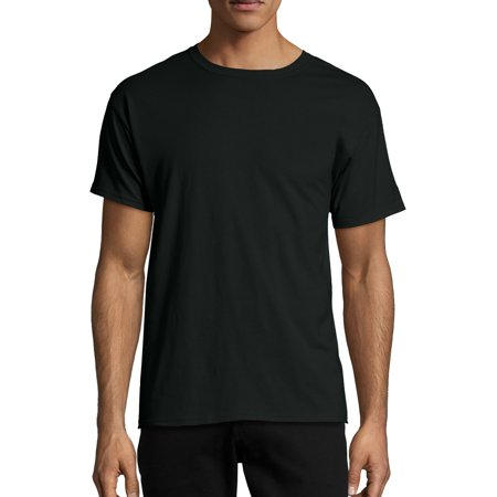 Hanes Men's X-temp Short Sleeve Tee (Hanes Black Skirt)