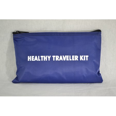 - Healthy Traveler Kit First Aid Travel Kit, Standard Domestic Kit, 9 x 6 Inch-1 Each