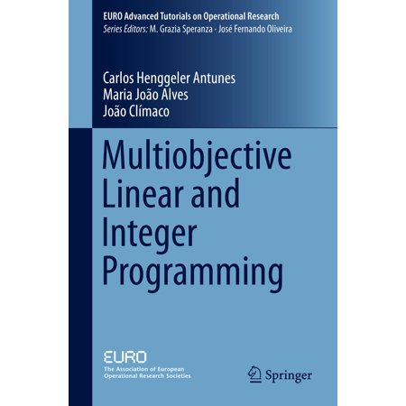 Multiobjective Linear and Integer Programming - eBook (Integer Linear Programming)