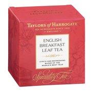 Taylors of Harrogate English Breakfast Leaf Tea Carton, 4.4 Oz