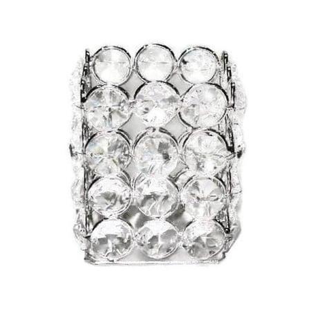 - Elegance Heim Concept Sparkle Crystal Square Tealight Holder
