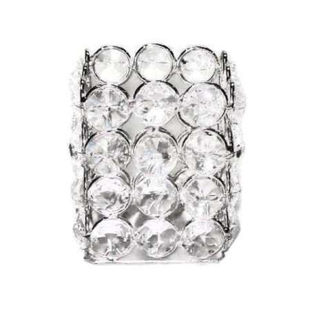 Elegance Heim Concept Sparkle Crystal Square Tealight (Crystal Elegance Collection)