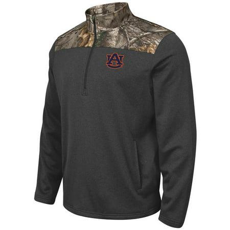 (Auburn University Tigers Half Zip Jacket Realtree Camo Pullover)