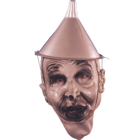 Morris Costumes Mens Tin Silver Funnel Shaped Hat Halloween Accessory](Silver Top Hats)