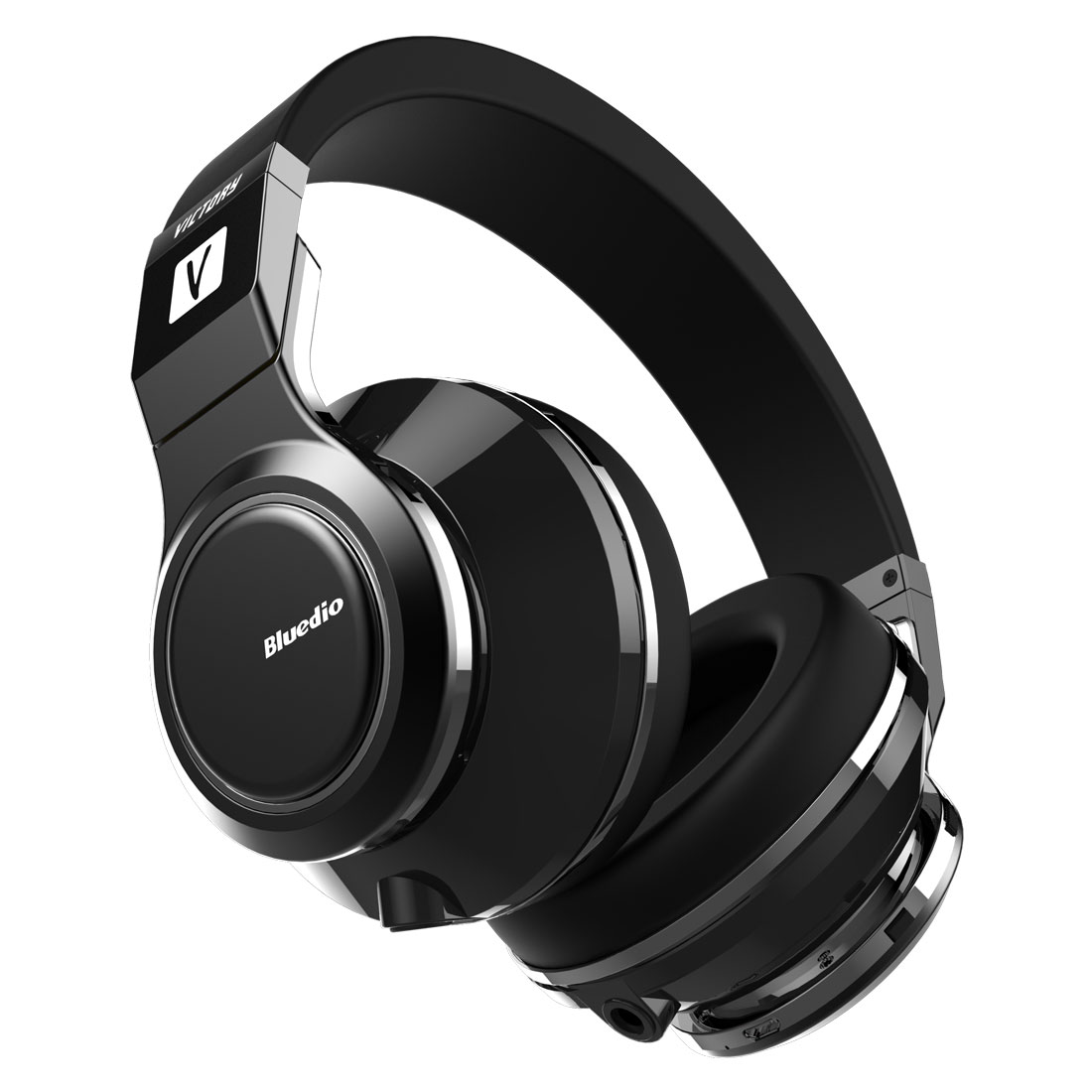 Bluedio Victory Bluetooth Headphones Wireless Headsets 12 drivers(Black) by Bluedio