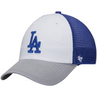 low priced 6e73a 67846 Product Image Los Angeles Dodgers  47 McKinley Closer Flex Hat - White Gray  - OSFA