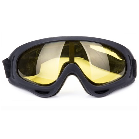 C.F.GOGGLE Outdoor Sports Ski Glasses Ski Snowmobile Snowboard Goggles OTG Anti-fog UV Protect Anti-slip Adjustable Straps for Women Men