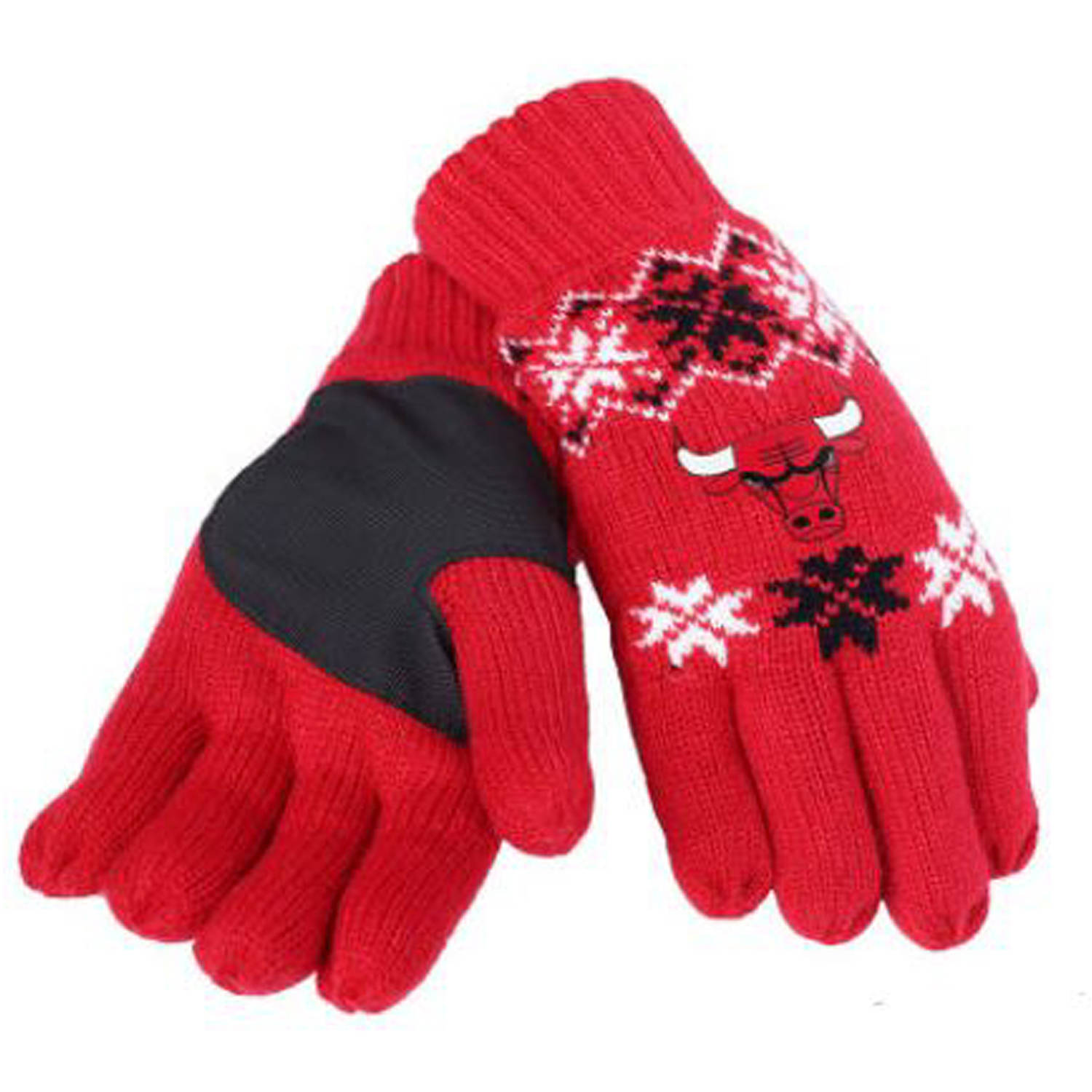 Forever Collectibles - NBA Lodge Gloves, Chicago Bulls