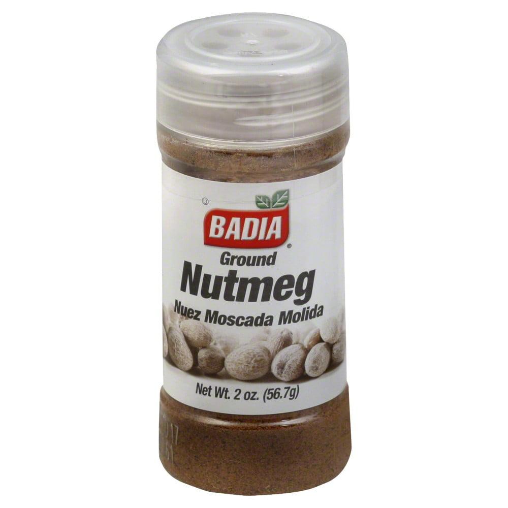 Badia Ground Nutmeg, 2 oz by Badia Spices