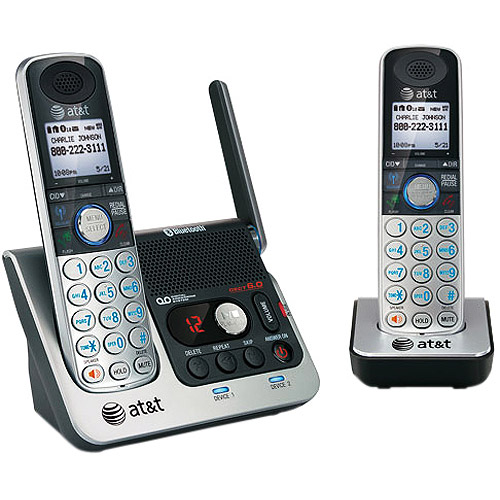 AT&T 2-Handset Bluetooth Answering System with Caller ID/Call Waiting