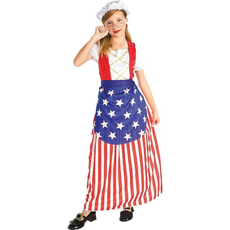 Betsy Ross Children (Morris costumes FM58270MD Betsy Ross Child Md)