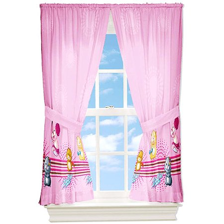 zhu zhu pets dancin girls bedroom curtains