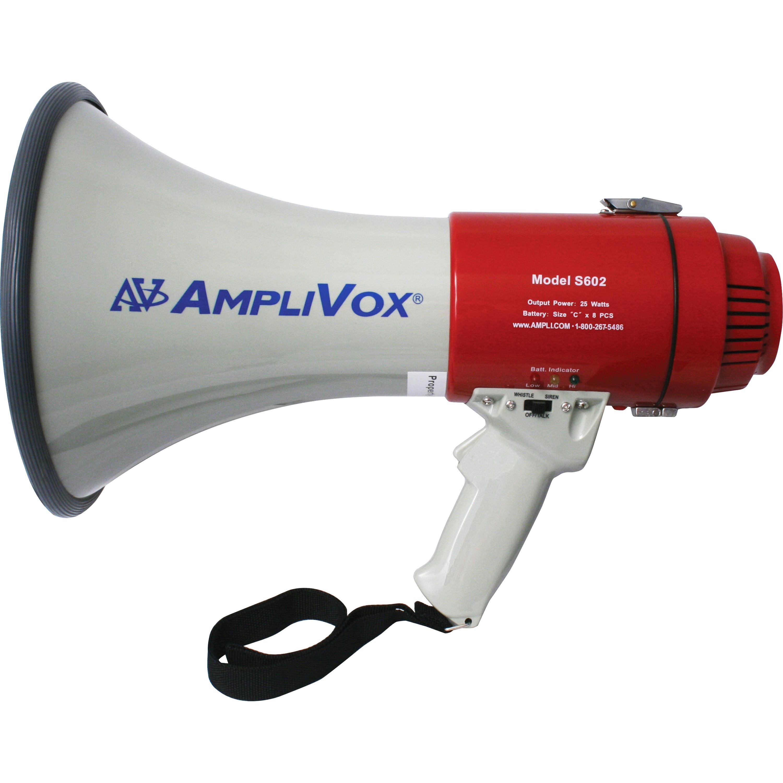AmpliVox MityMeg S602 Megaphone by AmpliVox