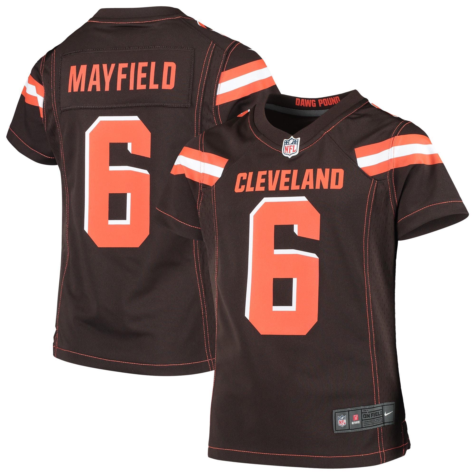 baker mayfield nike browns jersey