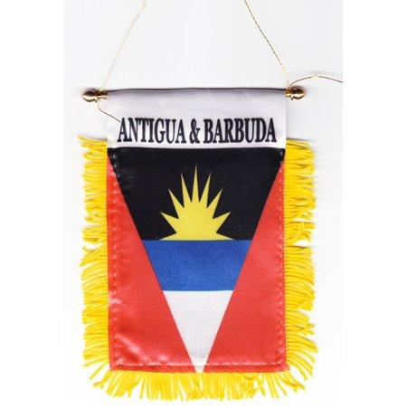 Antigua and Barbuda Window Hanging (Antigua Flag)