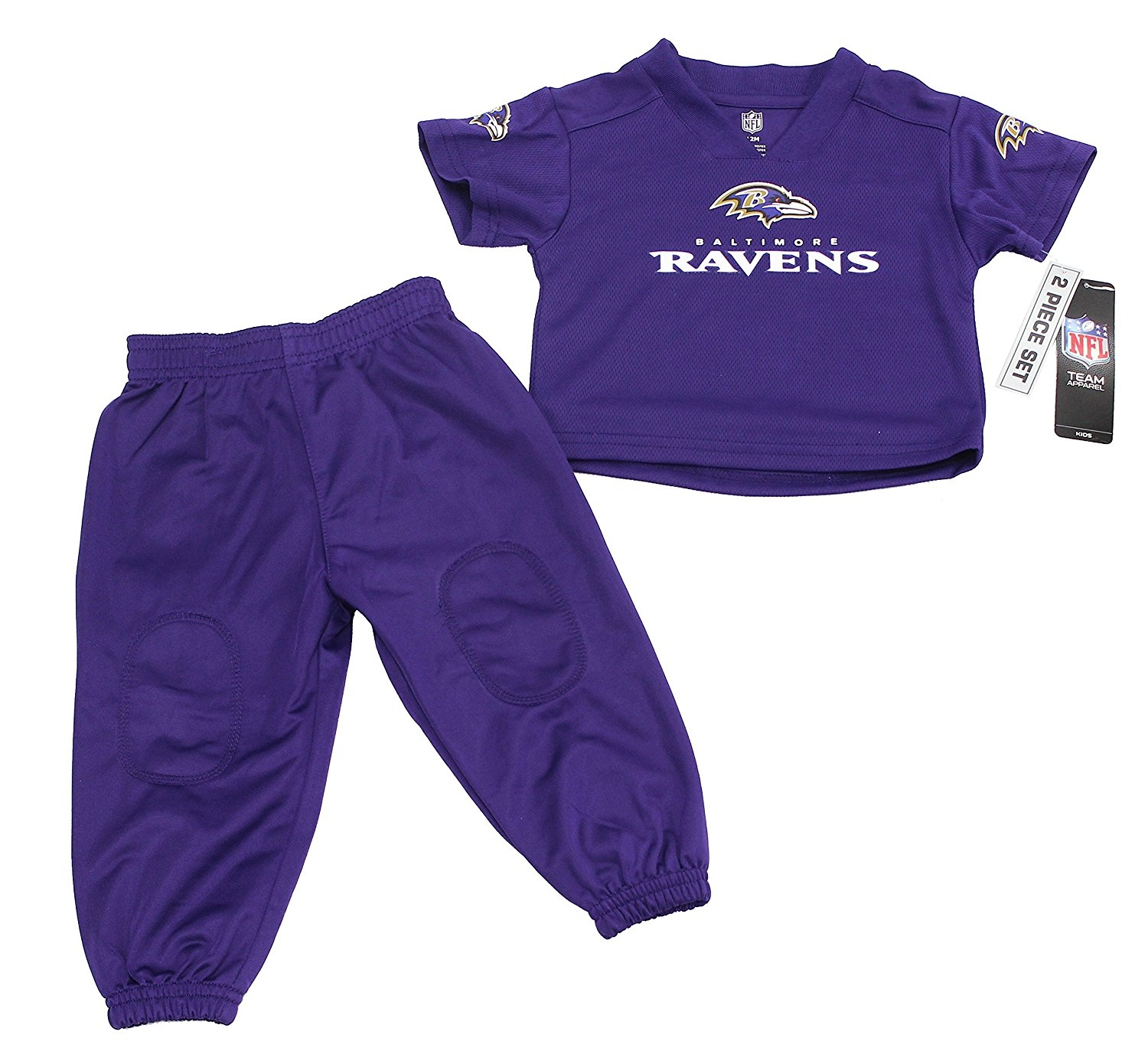 Outerstuff Baby Boy's Baltimore Ravens Football 2 Piece Pants Set by Outerstuff
