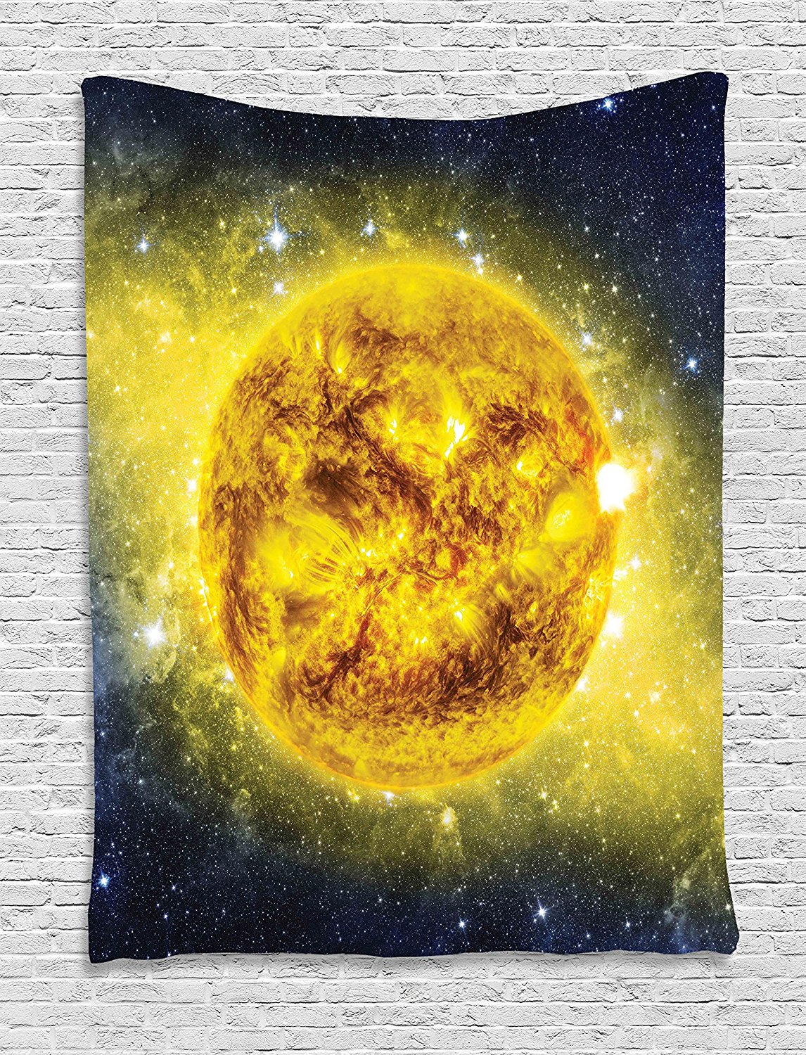 Galaxy Tapestry Wall Hanging by , Astronaut in Outer Space with ...