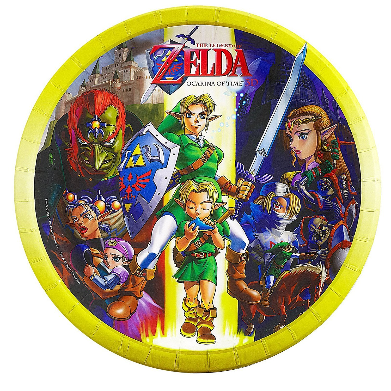 The Legend Of Zelda Dinner Plates 16 By BirthdayExpress