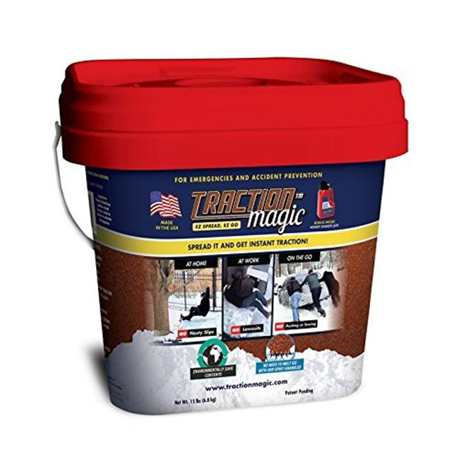 Gaia Enterprises 90000 15 lbs.  Traction Magic Bucket with Personal Shaker