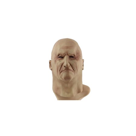 Eye Wrinkled Old Man Rubber Mask for Cosplay / Halloween Costume - 14 Year Old Halloween Party Ideas