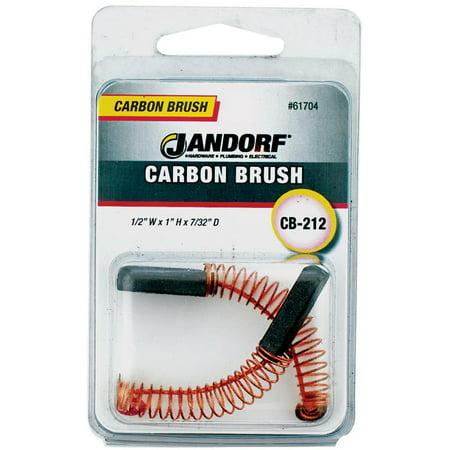 Jandorf 61704 Carbon Brush 2 Piece