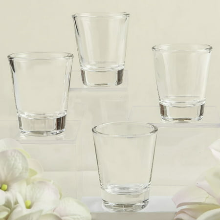 Perfectly Plain Collection Shot Glass Favors , 72](Shot Glass Favors)