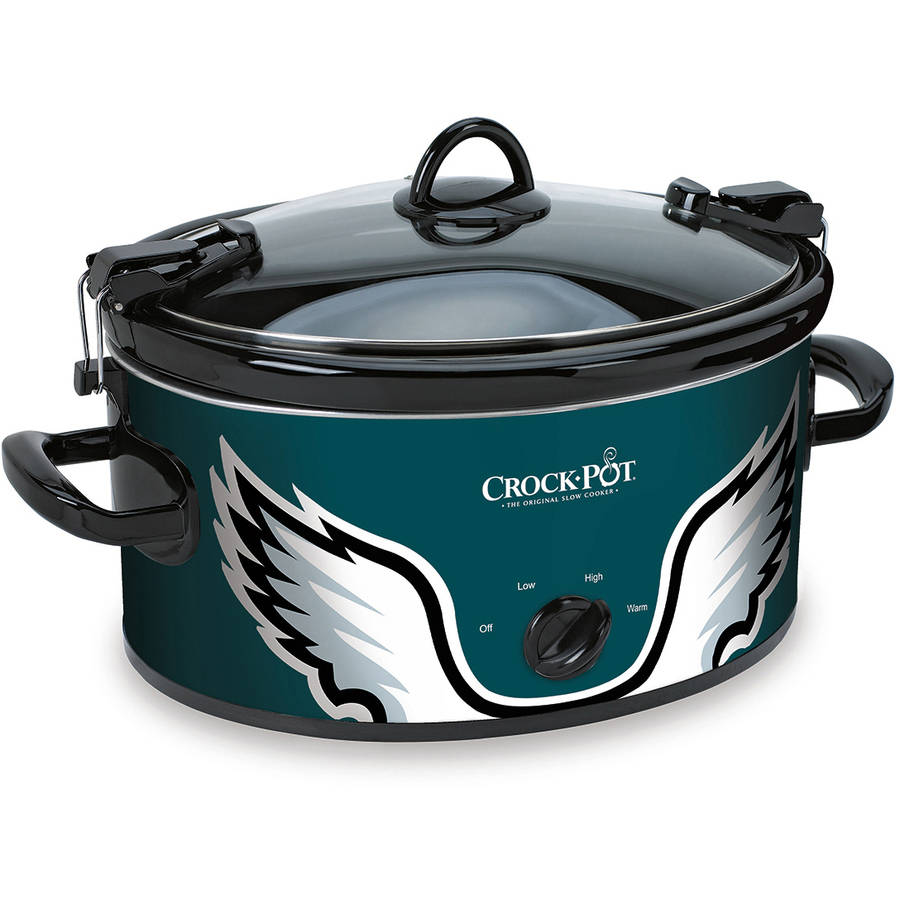 Crock-Pot NFL 6-Quart Slow Cooker, Philadelphia Eagles