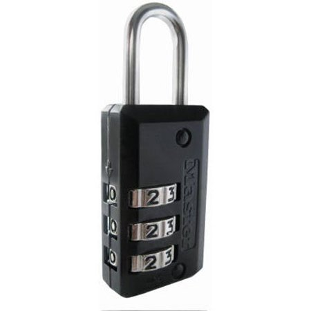 Padlock, Set Your Own Combination Luggage Lock, 13/16 in. Wide, 646D, PADLOCK APPLICATION: For indoor use; Small lock is best used for backpacks,.., By Master Lock Ship from