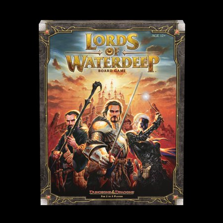 Lords of Waterdeep : A Dungeons & Dragons Board Game Lord Of The Rings Role Playing Game