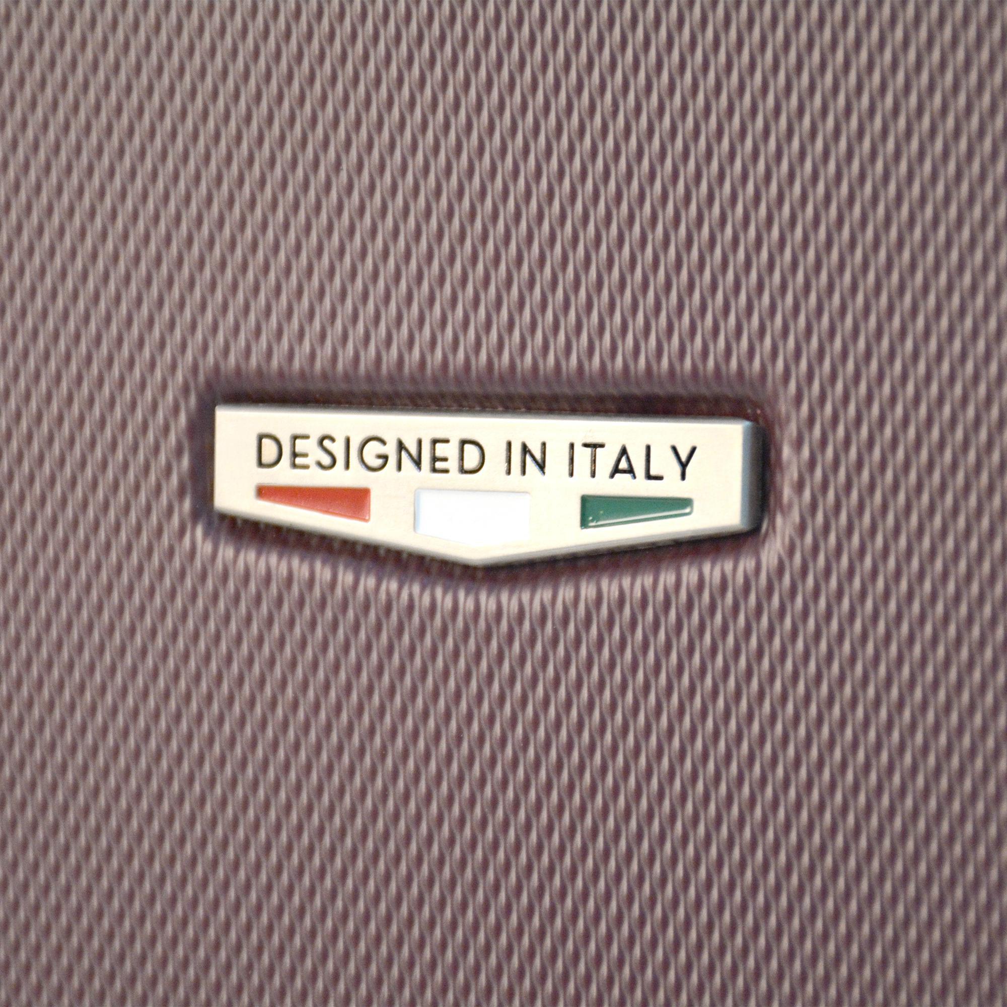 Black Viaggi Mia Italy Positano Hardside Spinner Carry-on