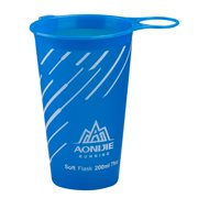 xinxinxx 200mL Folding TPU Water Cup for Outdoor Cycling Camping Running Hiking Soft Drinking Cups