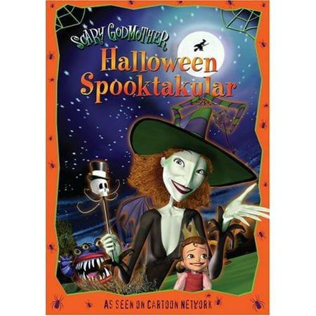 Scary Godmother: Halloween Spooktakular (DVD) (Scary Face Paint Halloween)