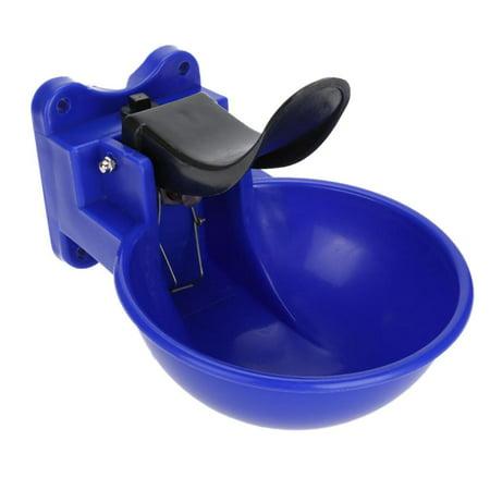 Qiilu Bol à boire automatique, sortie de l'eau 2L Bol à boire automatique bovin caprin mouton, alimentation pour chien - image 1 de 3