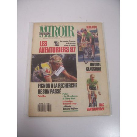 Miroir du cyclismo march 1987 issue vintage magazine for Miroir walmart