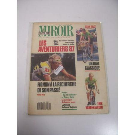 Miroir du cyclismo march 1987 issue vintage magazine for Miroir walmart
