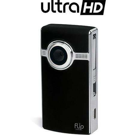 Flip UltraHD U2120 Black Camcorder, 2 Hour Recording Time, 8GB ...