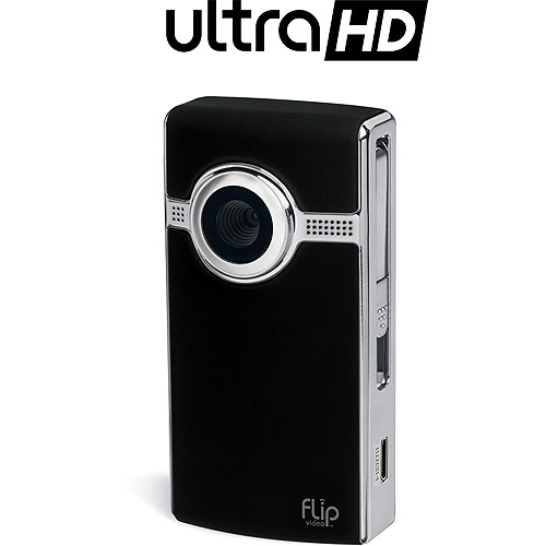 Flip UltraHD U2120 Black Camcorder, 2 Hour Recording Time, 8GB (2nd Generation)