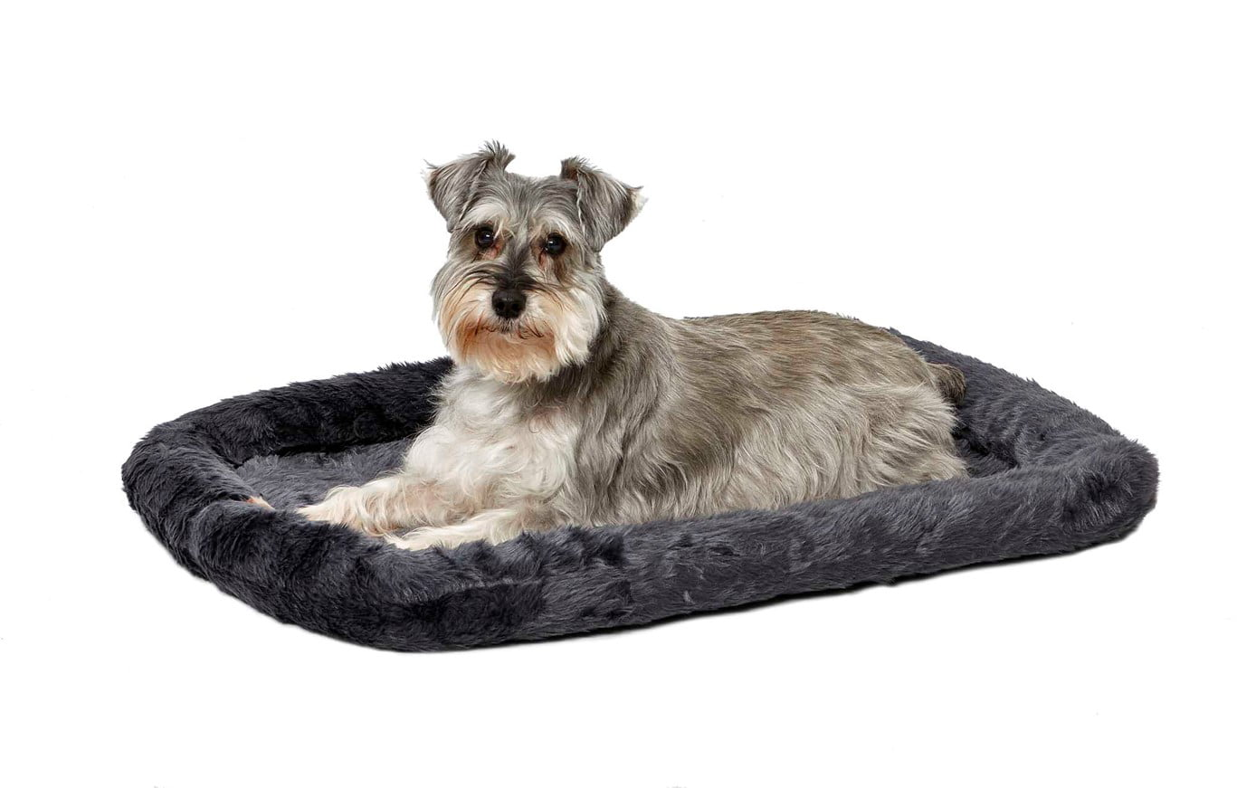 """MidWest Homes For Pets QuietTime Pet Bed & Dog Crate Mat, Gray, 30"""""""