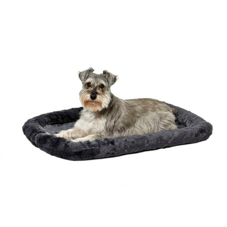 MidWest QuietTime Pet Bed & Dog Crate Mat, Gray, 30