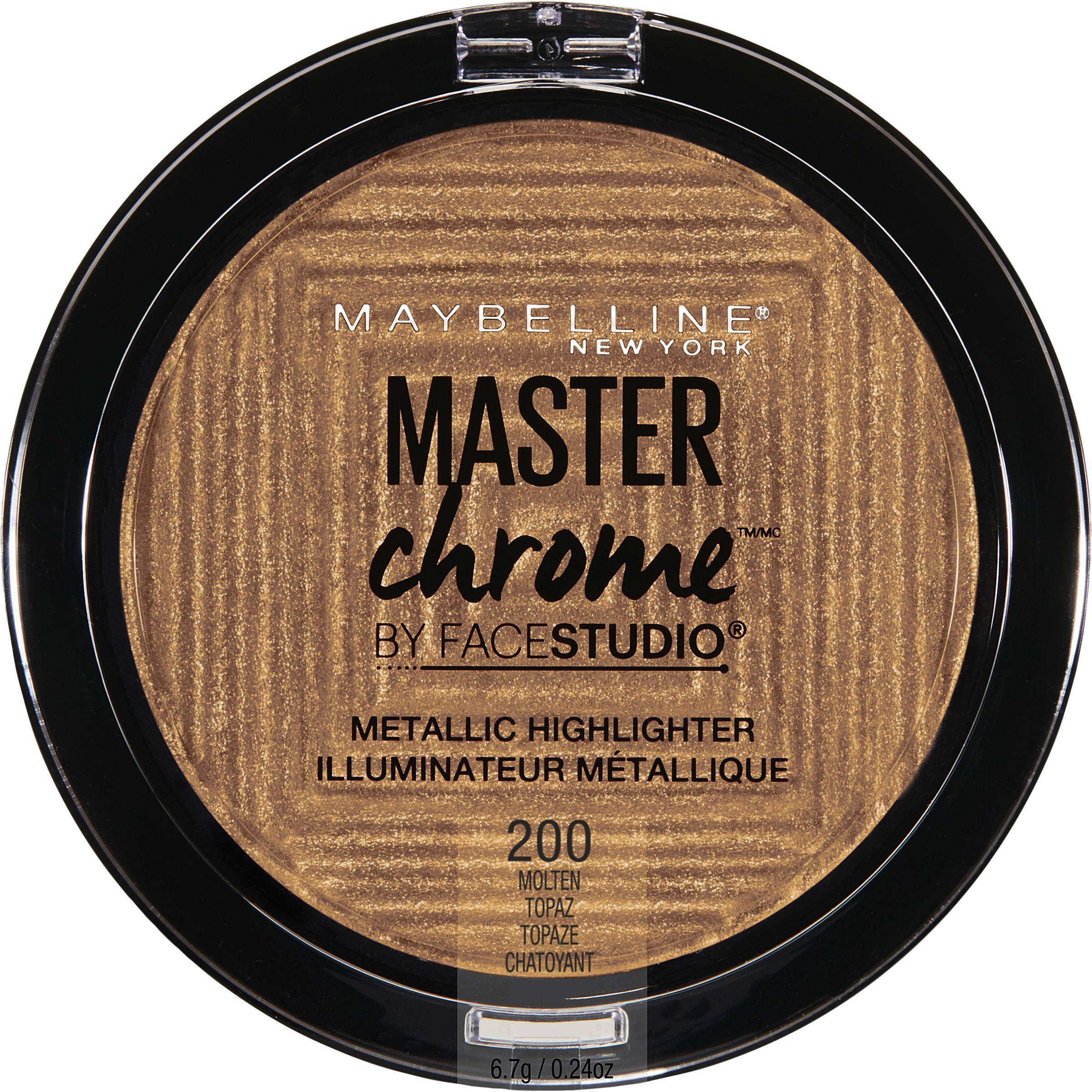 Maybelline Facestudio Master Chrome Metallic Highlighter, Molten Topaz