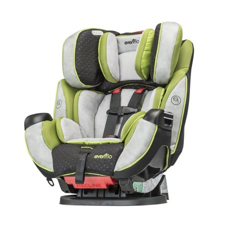 Evenflo Symphony Dlx Convertible Car Seat In Porter