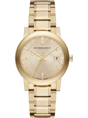 66a48bc6489 Product Image Burberry BU9033 Beige   Gold Stainless Steel Analog Quartz Unisex  Watch