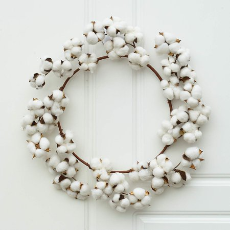 Cotton Wreath Decor, 16