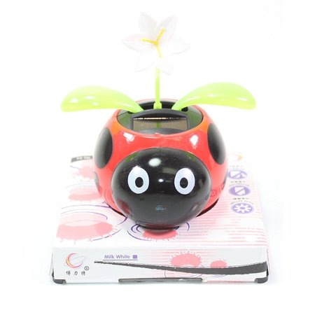 Ladybug Beetle With Orted Top Attachments Solar Toy Holiday Gift Home Decor Ed