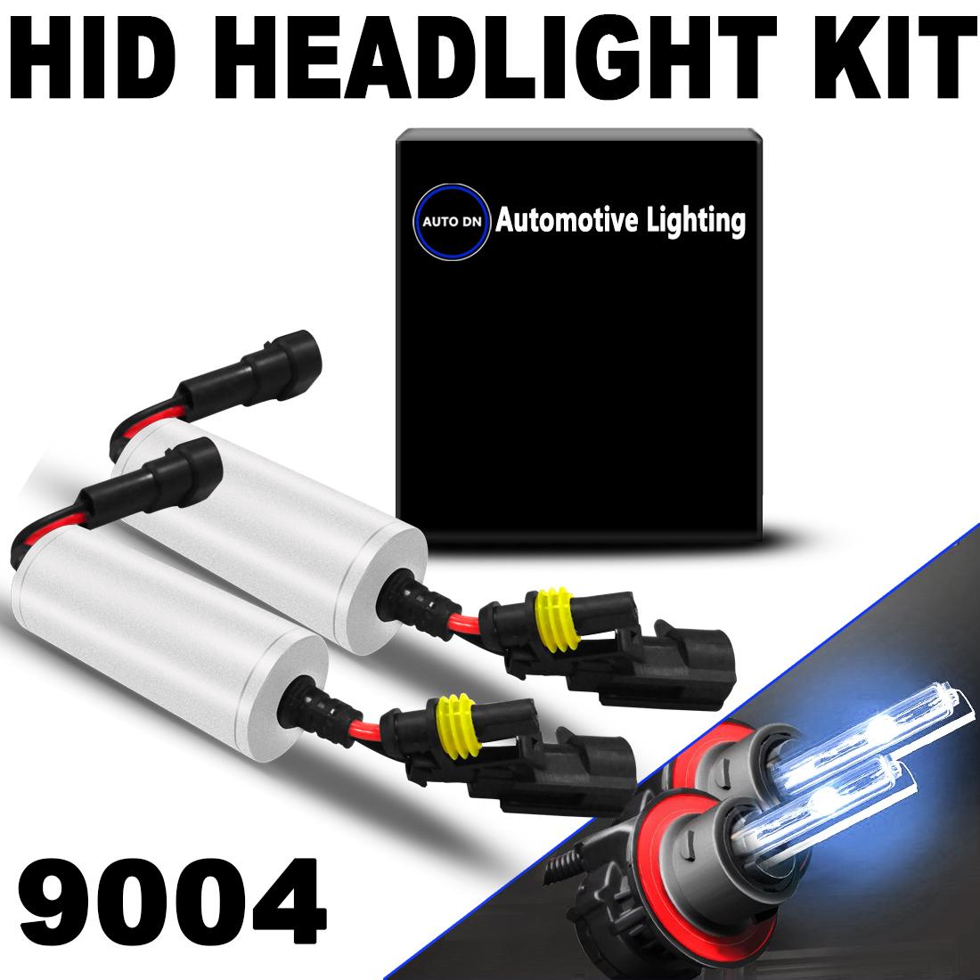 AUTO 2X Bullet Replace Headlight HID Bi-Xenon Light Bulb ...